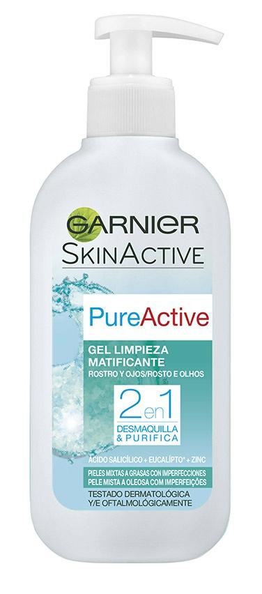 Garnier Skin Active Gel Limpieza Matificante