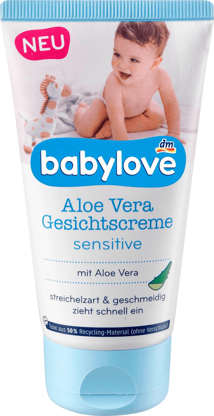 Babylove Aloa Vera Gesichtscreme