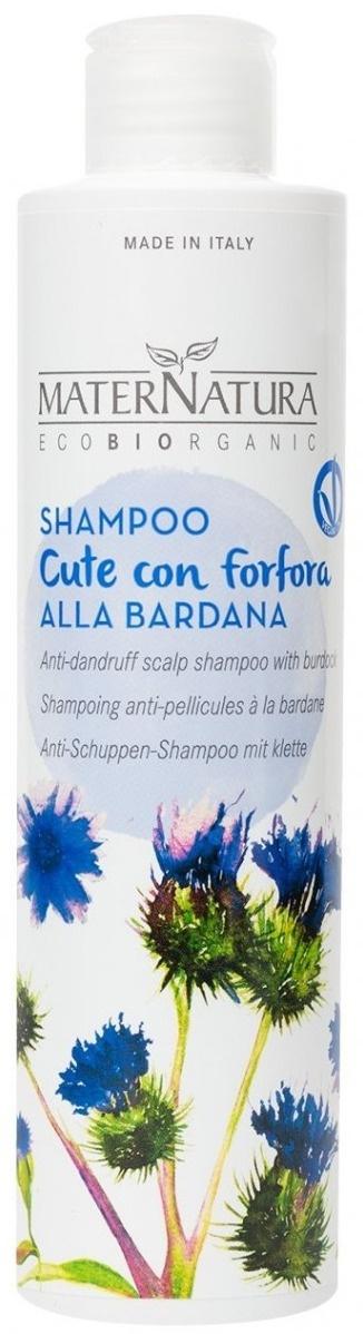 MaterNatura Shampoo Cute Con Forfora Alla Bardana