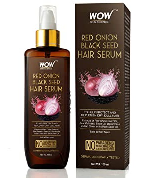 WOW skin science Red Onion Black Seed Hair Serum