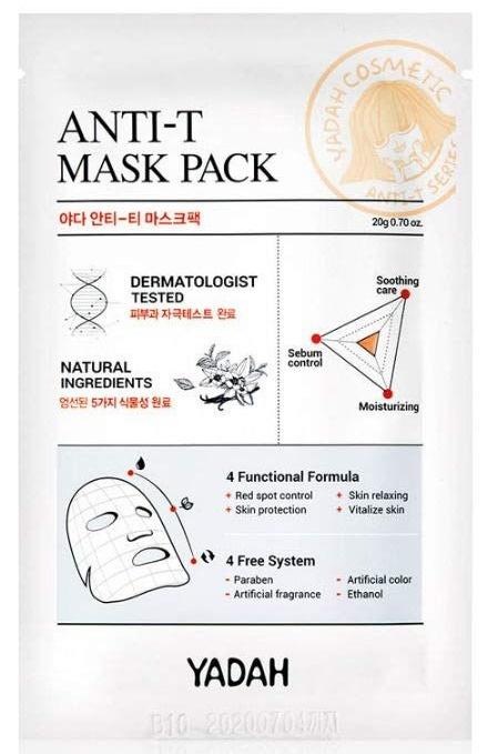 Yadah Anti Trouble Mask Face Anti-Acnee