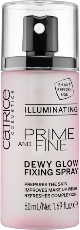 Catrice Prime And Fine Dewy Glow Finish Spray - Illuminating