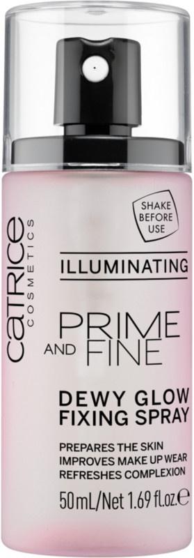 Catrice Prime And Fine Dewy Glow Finish Spray - Illuminating
