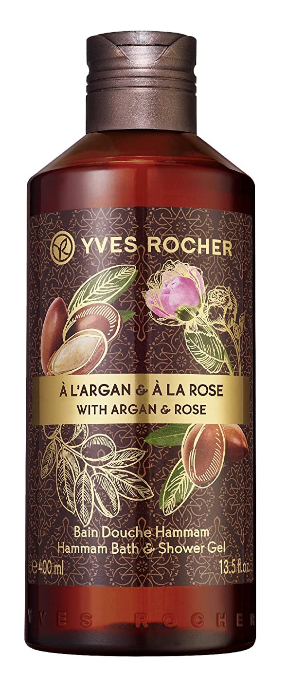 Yves Rocher Argan Rose Hammam Bath and Shower Gel