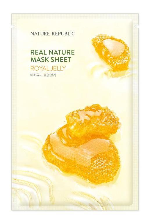 Nature Republic Real Nature Mask Sheet Royal Jelly