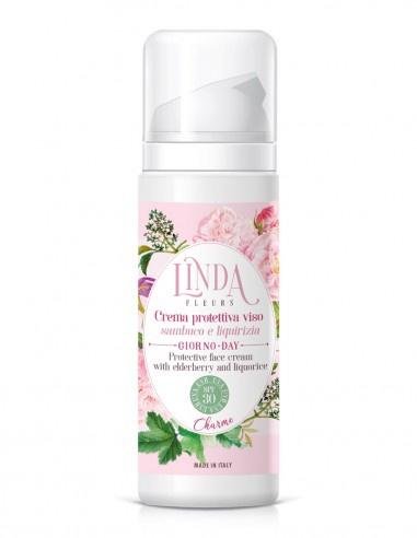 Linda Fleurs Crema Protettiva Viso Spf 30