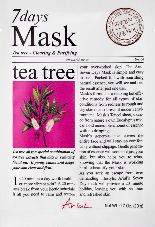 Ariul 7 Days Mask Tea Tree Clearing & Purifying