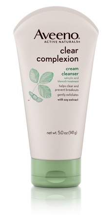 Aveeno Clear Complexion Cream Cleanser With Slicylic Acid