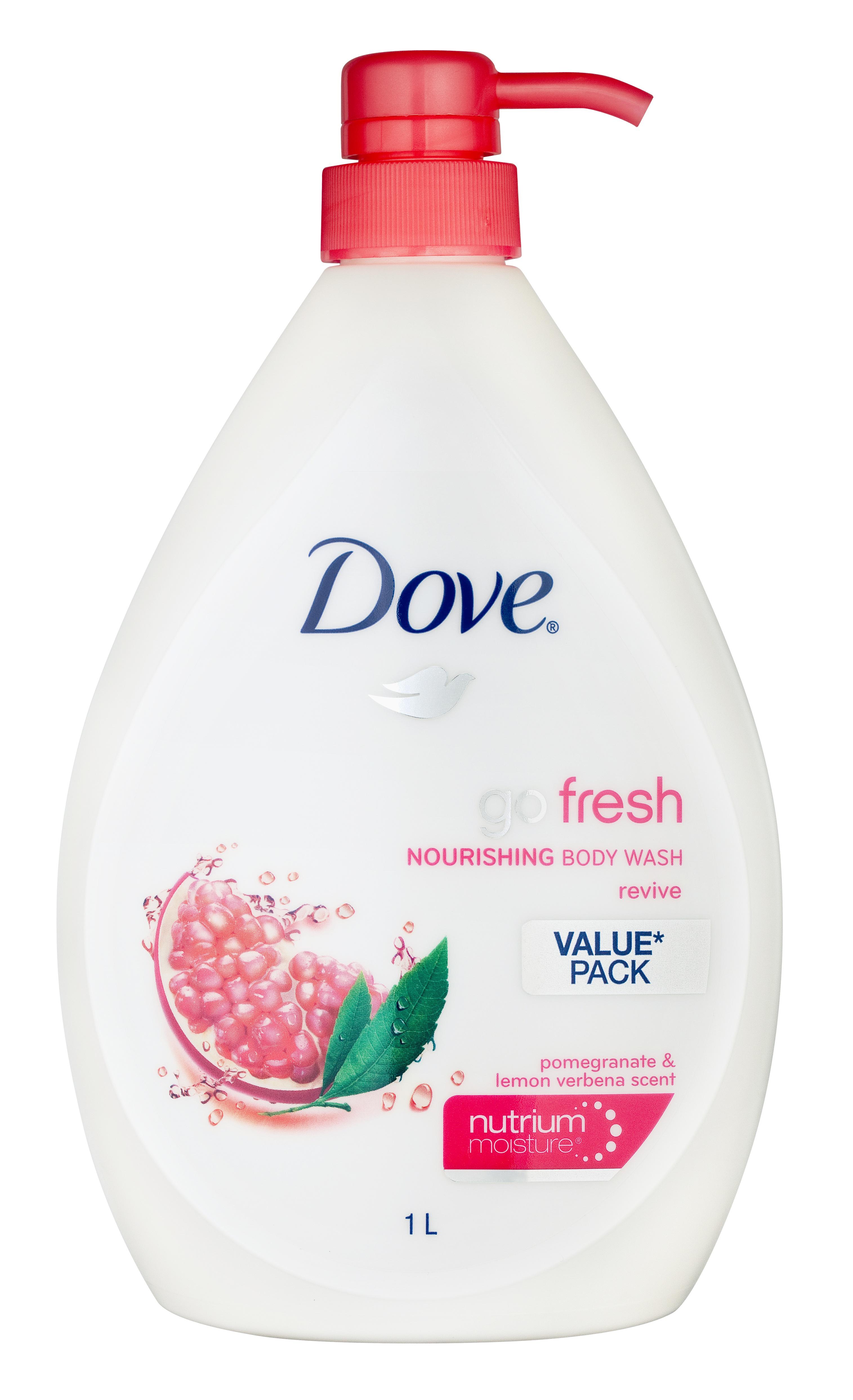 Dove Go Fresh Body Wash Revive Pomegranate & Lemon Verbena