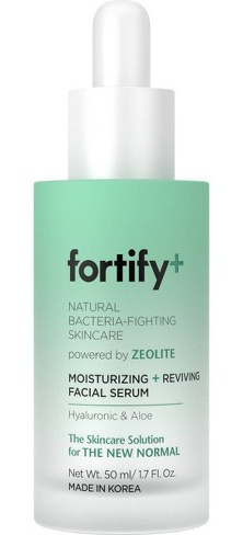Fortify+ Natural Bacteria-Fighting Skincare Moisturizing And Reviving Facial Serum
