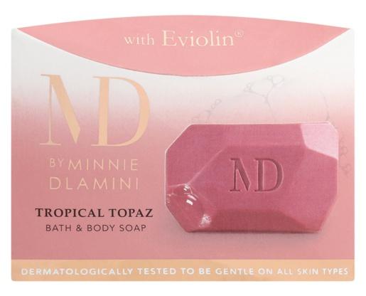 Minnie Dlamini Tropical Topaz Body Soap