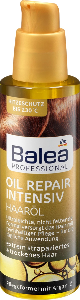 Balea Professional Oil Repair Intensive Hair Oil / Haaröl