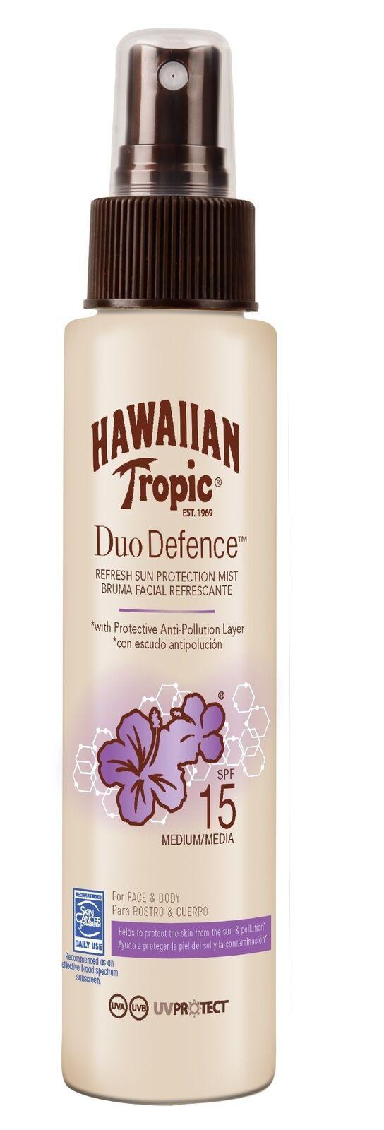 Hawaiian Tropic Duo Defense Refresh Mist SPF 15