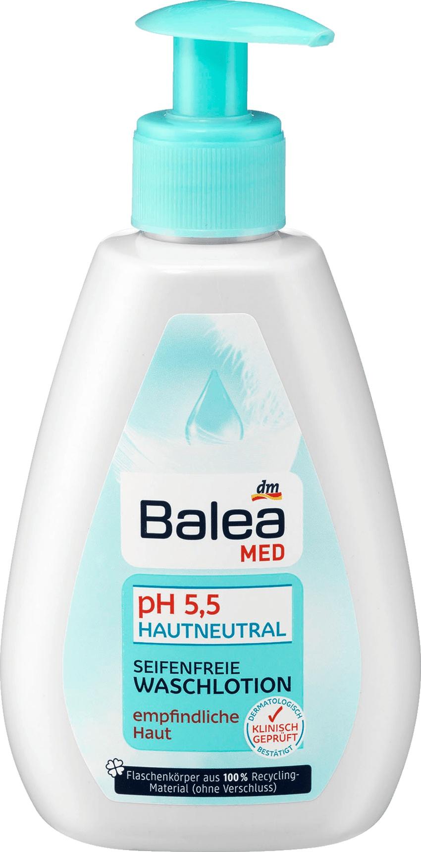 Balea Med seifenfreie Waschlotion