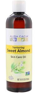 Aura Cacia Skin Care Oil, Nurturing Sweet Almond