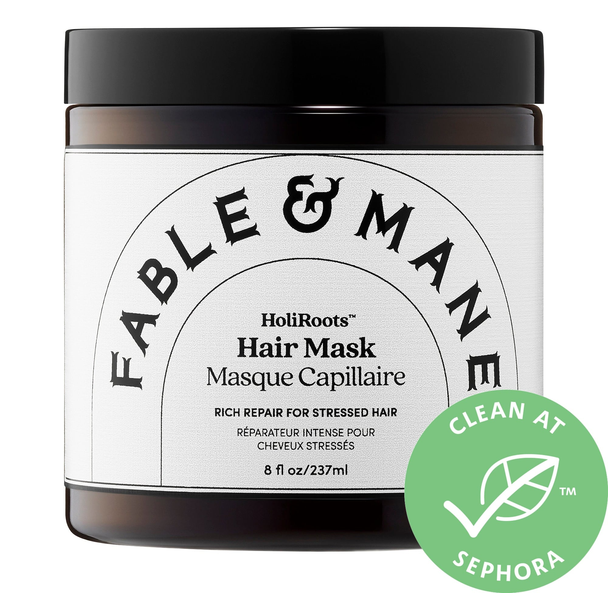 Fable and Mane Holiroots Hair Mask