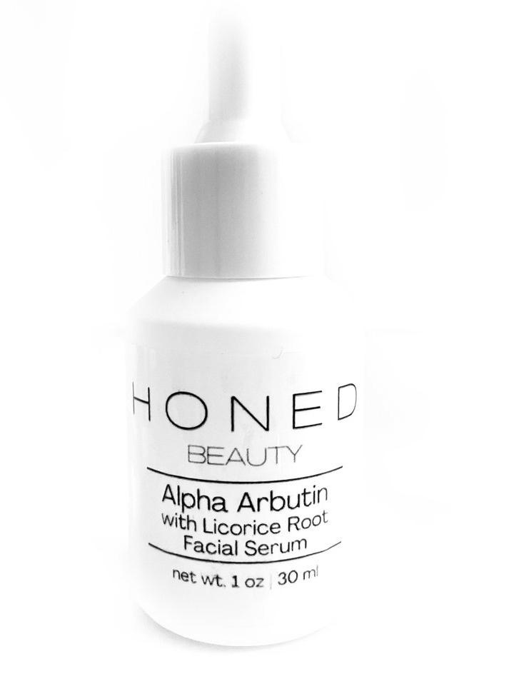 Honed Beauty Alpha Arbutin With Licorice Root Facial Serum