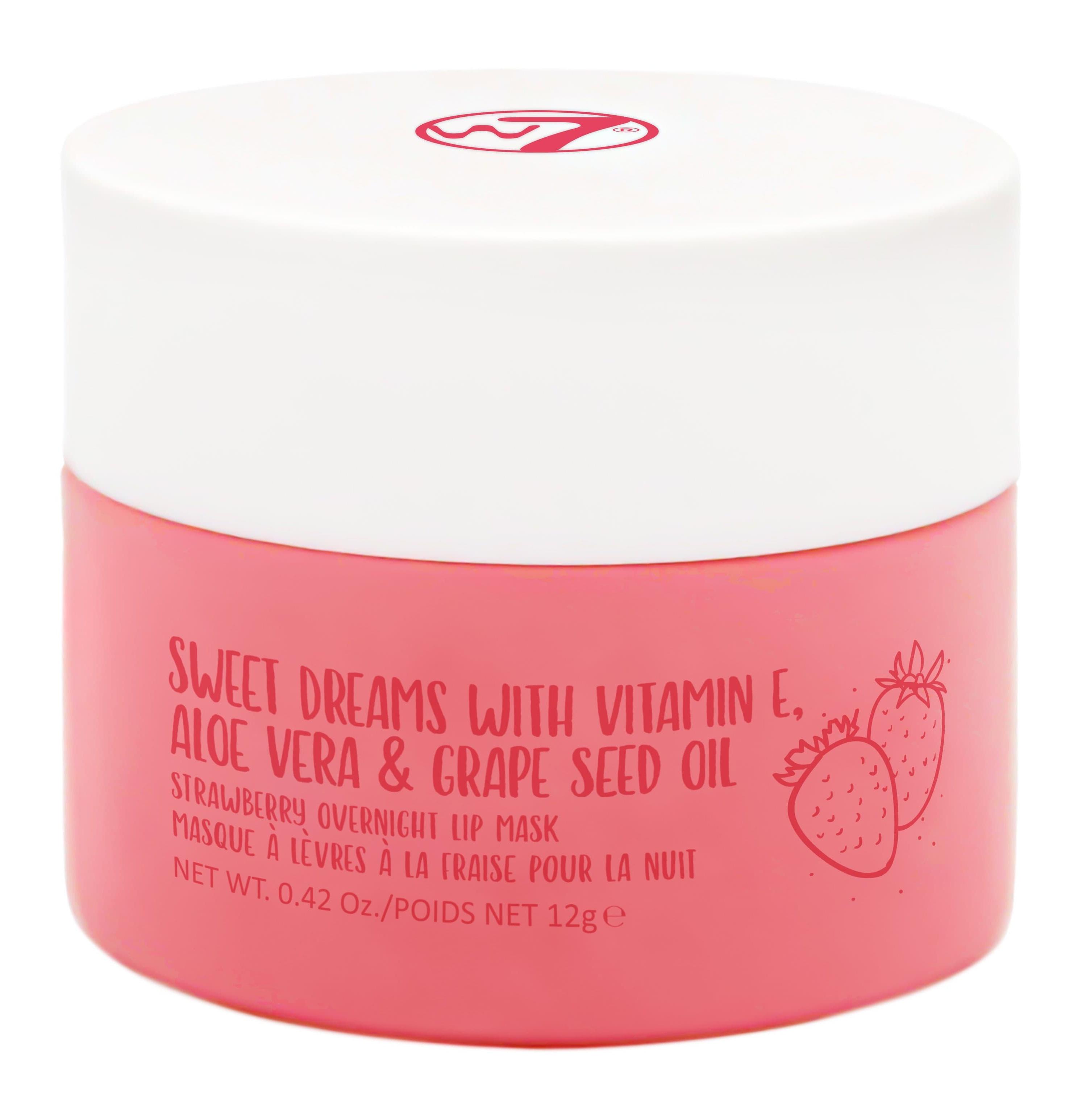 W7 Cosmetics Strawberry Overnight Lip Mask