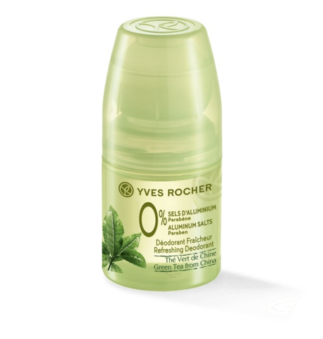 Yves Rocher 0% Refreshing Green Tea Deodorant