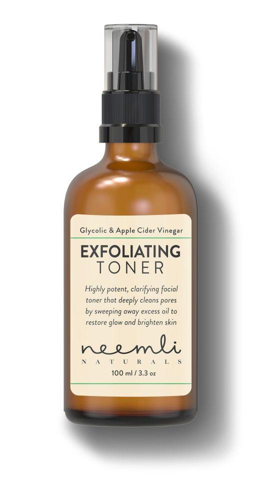 Neemli Naturals Glycolic Acid & Apple Cider Vinegar Exfoliating Toner