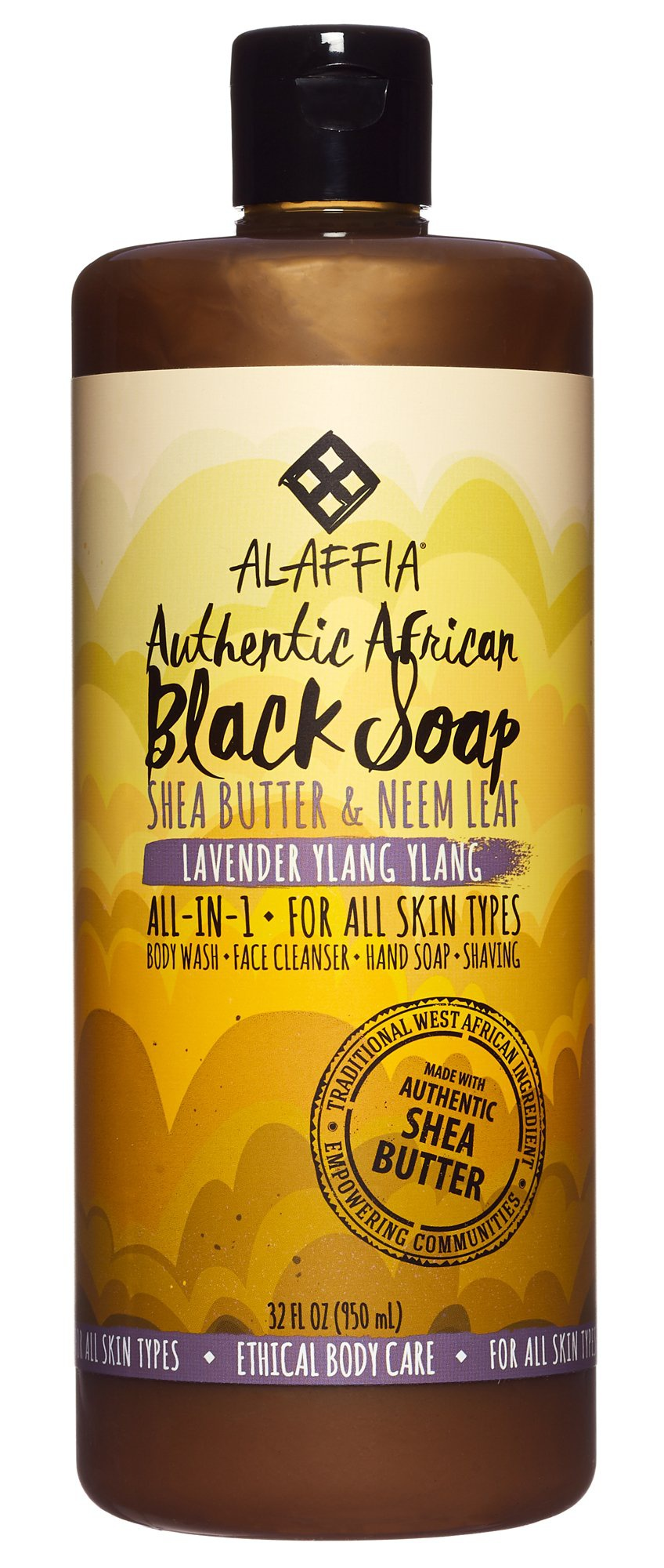 Alaffia African Black Eucalyptus Tea Tree Soap