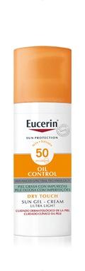 Eucerin Sun Gel-Cream Oil Control Spf 50+