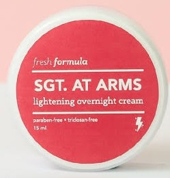 Fresh Formula Sgt. At Arms Lightening Overnight Cream