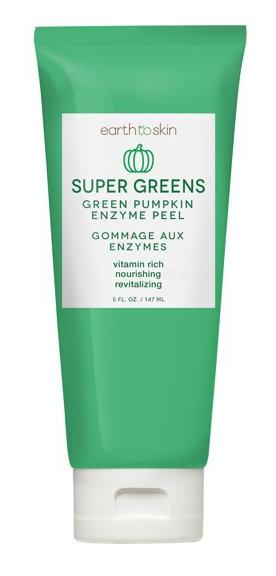 Earth To Skin Super Greens Green Pumpkins Enzyme Peel