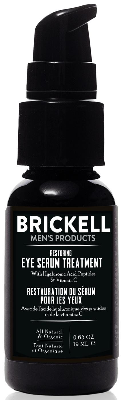 Brickell Men's Products Restoring Eye Serum Treatment For Men