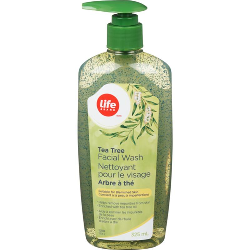 Life Brand Tea Tree Oil Facial Wash