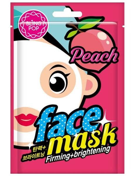 Bling Pop Peach Firming & Brightening Mask