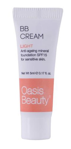 Oasis Beauty Natural Bb Cream In Light Shade
