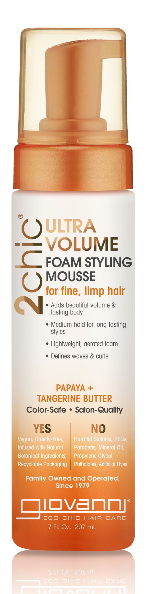 Giovanni Ultra Volume Foam Styling Mousse