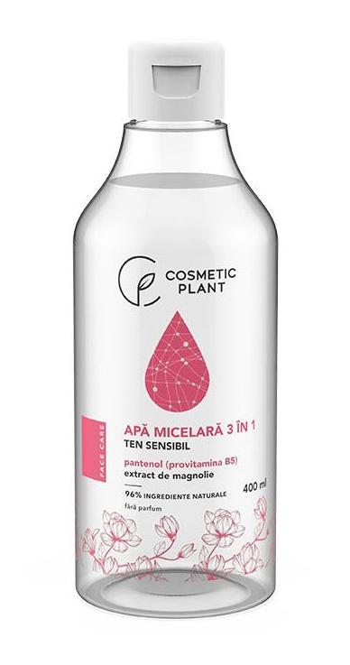 Cosmetic Plant Apă micelară 3 în 1 cu pantenol & extract de magnolie