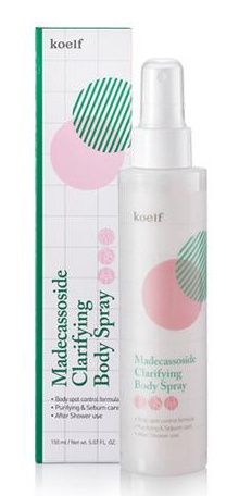 Petitfee Koelf Madecassoside Clarifying Body Spray