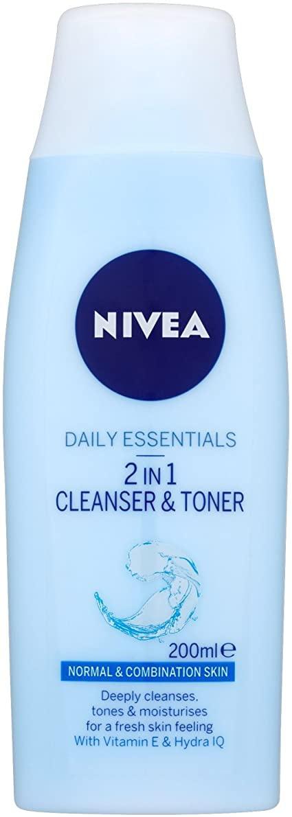 Nivea Nivea 2-In-1 Face Cleanser & Toner
