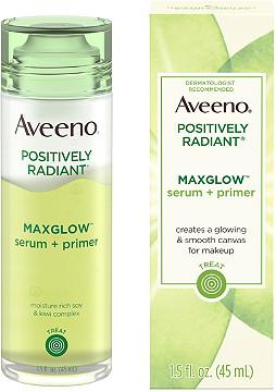Aveeno Maxglow Serum + Primer