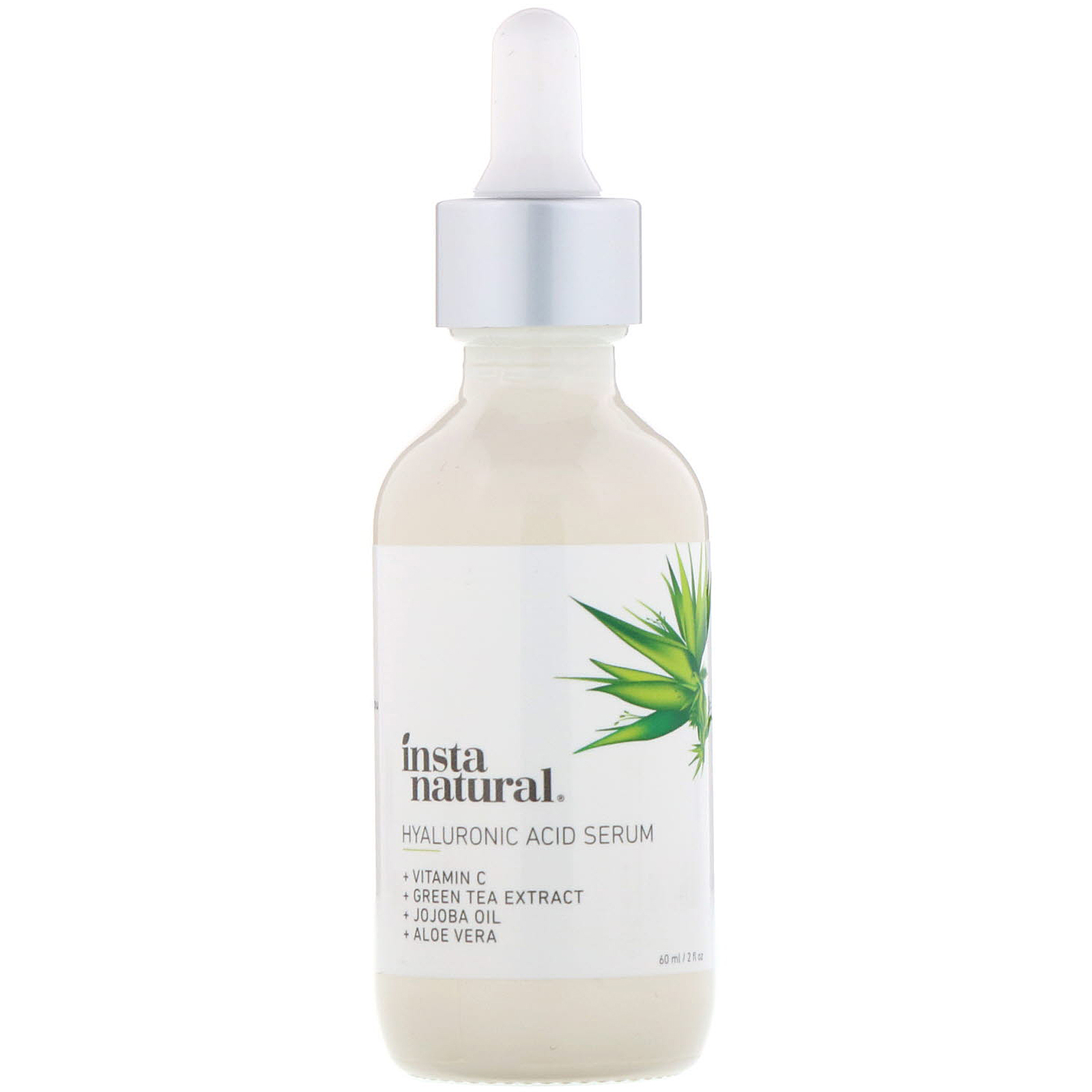 InstaNatural , Hyaluronic Acid Serum With Vitamin C