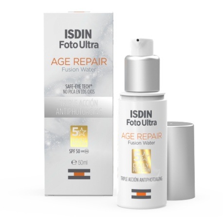 ISDIN Fotoultra Age Repair Spf 50 Fusion Water