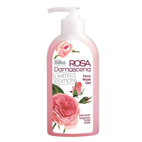 Bilka Rosa Damascena Face Wash Gel