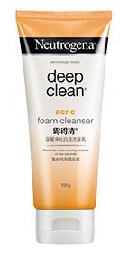 Neutrogena Deep Clean Acne Foam Cleanser