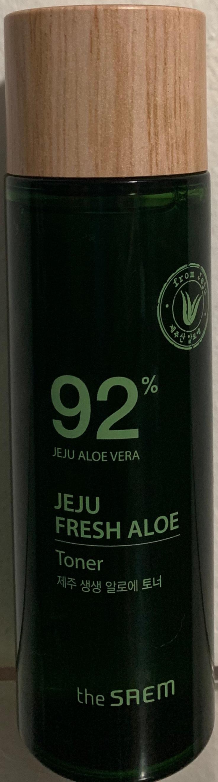 The Saem Jeju Fresh Aloe Toner 92%