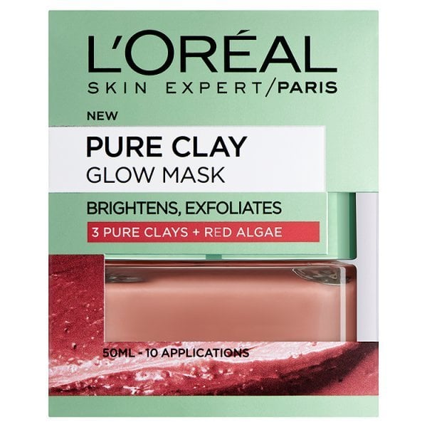 L'Oreal Paris Pure Clay | Glow Mask | Red Algae