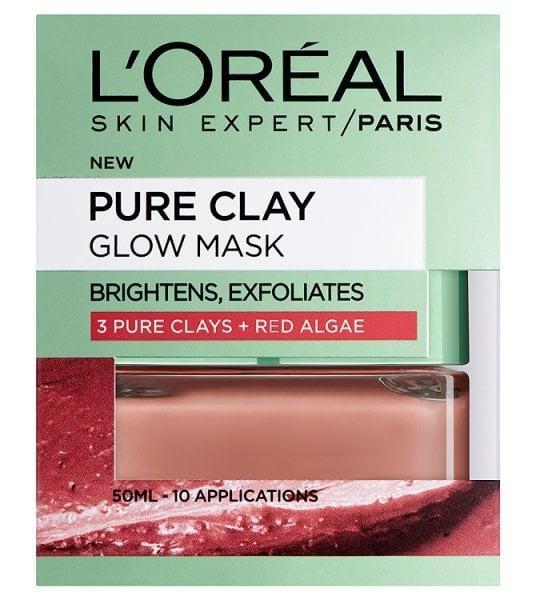 L'Oreal Paris Pure Clay   Glow Mask   Red Algae