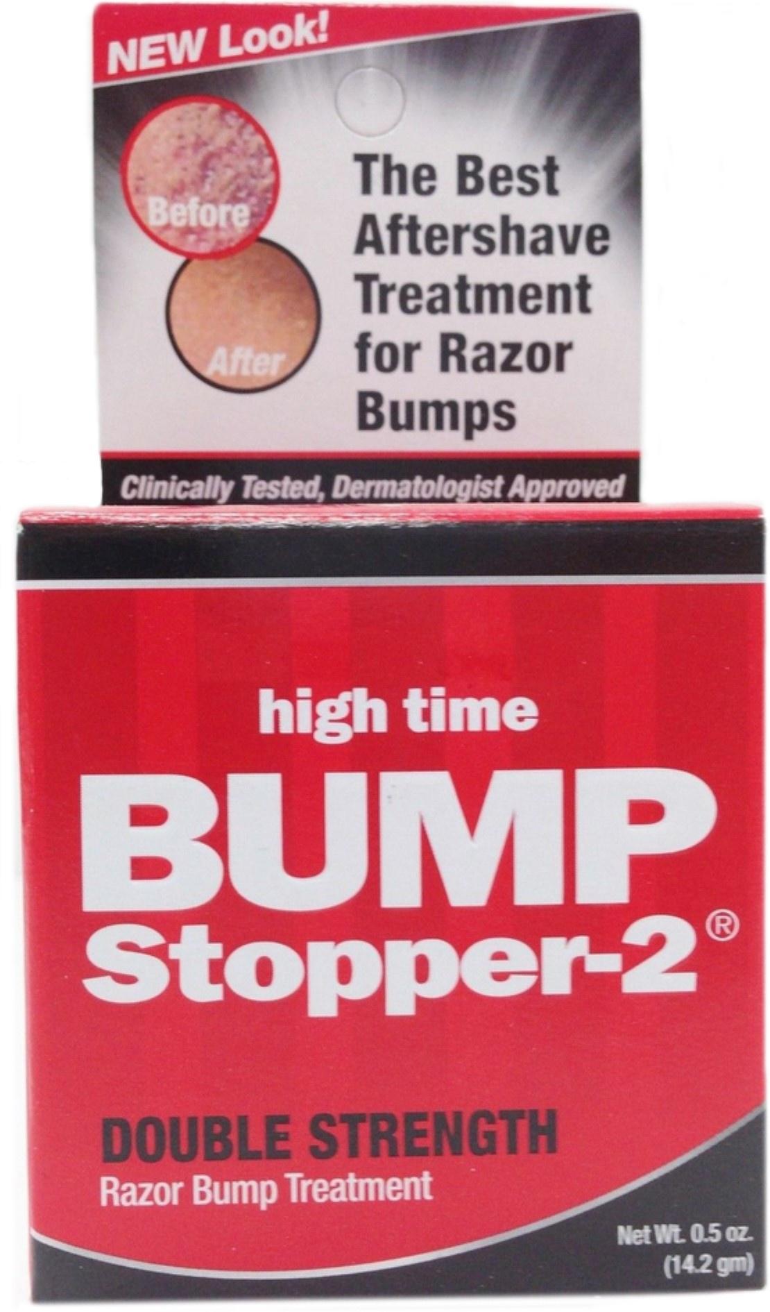 High Time Bump Stopper-2 Double Strength Razor Bump Treatment