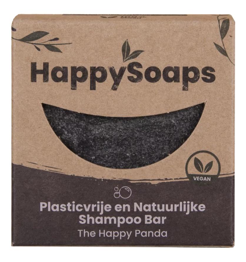 The Happy Soaps Panda Shampoo Bar