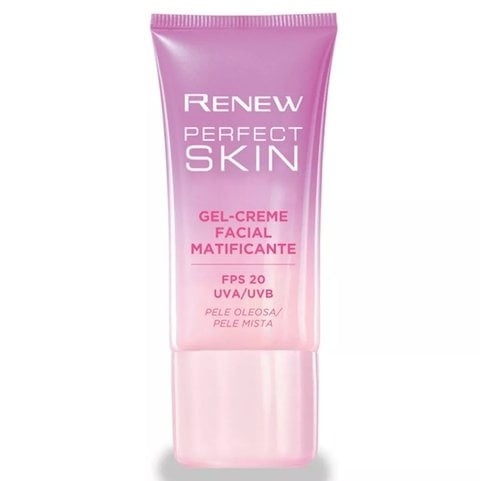 Avon Renew Perfect Skin Gel-Creme Matificante Fps 20