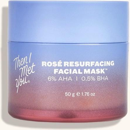 Then I Met You Rosé Resurfacing Facial Mask