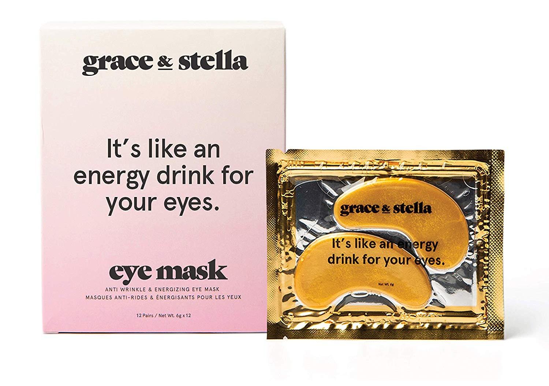 grace & stella Gold Powder Collagen Eye Mask