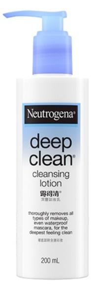Neutrogena Deep Clean® Cleansing Lotion